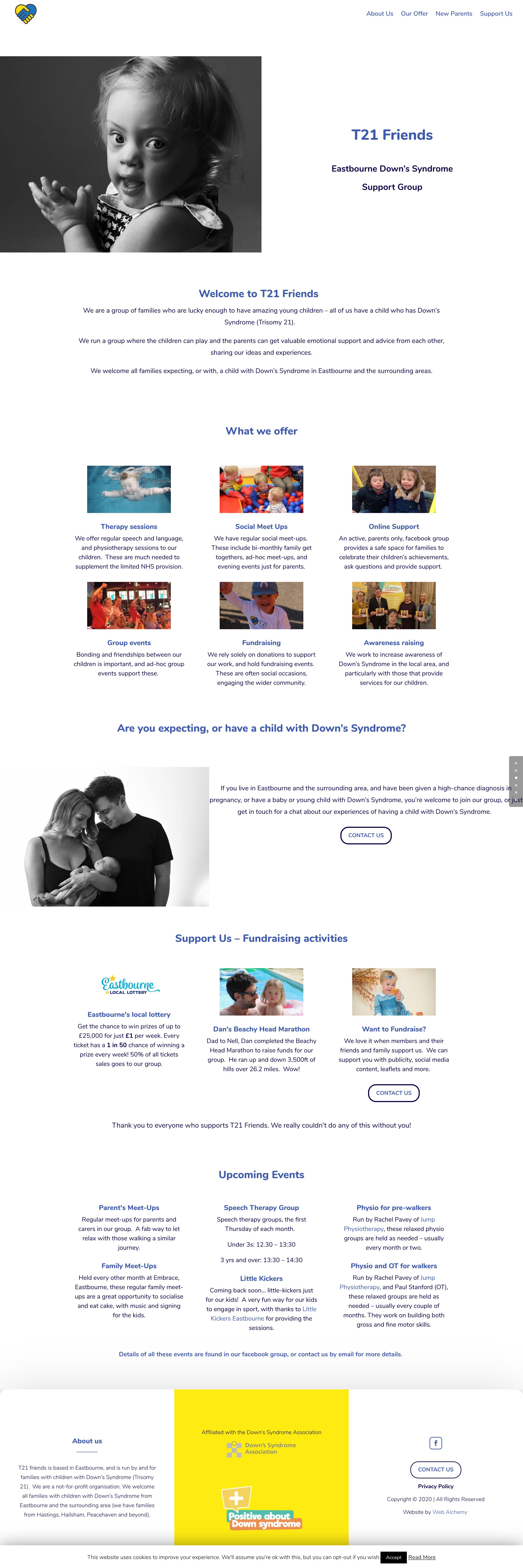 T21 friends website