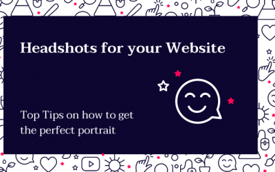 Top Tips – How to get the perfect headshot for your website