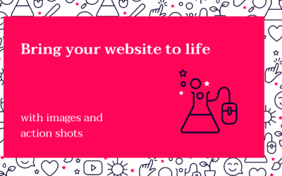 How to bring your website to life through images