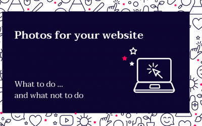 How to get the perfect photos for your website